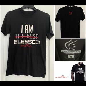 Active Faith I AM BLESSED Tee
